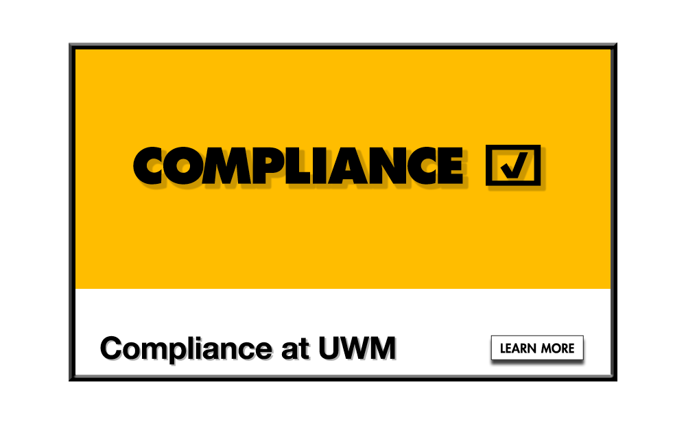 Compliance at UWM