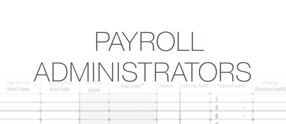Payroll Administrators