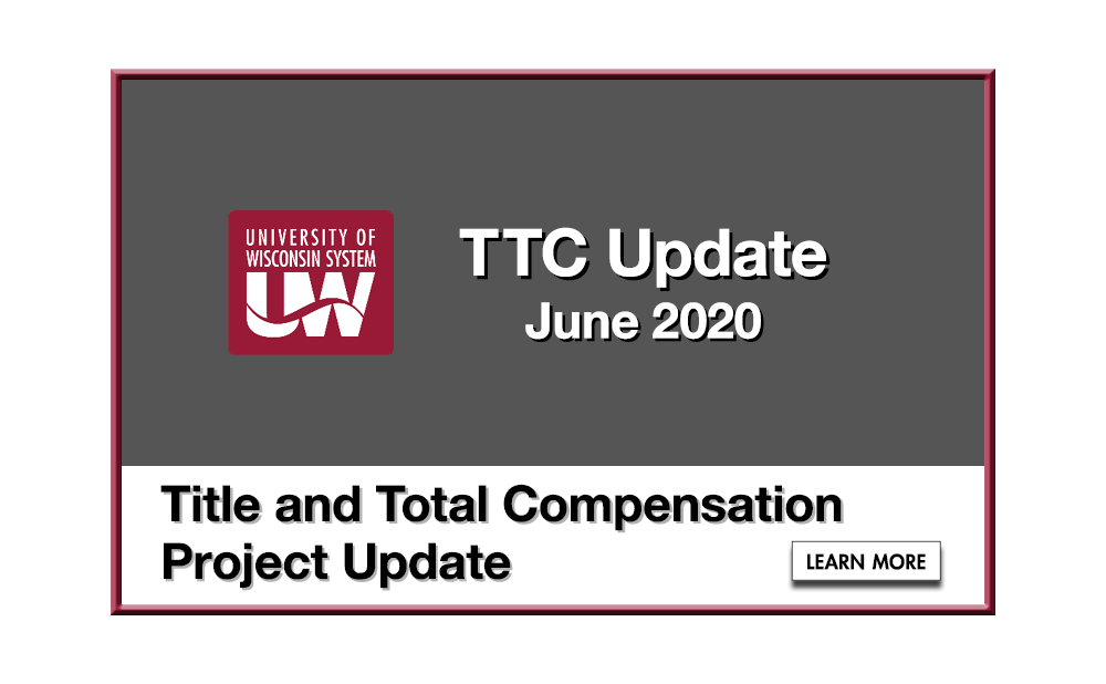 Title and Total Compensation Project Update