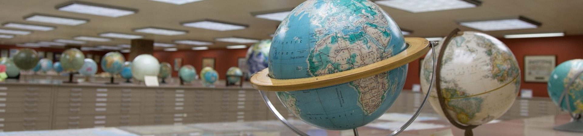 American Geographical Society globe collection