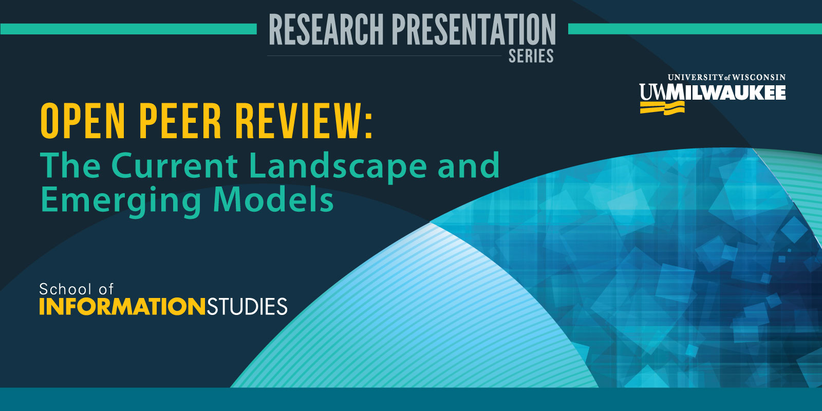 Details For Event 17064 – Open Peer Review: The Current Landscape and Emerging Models