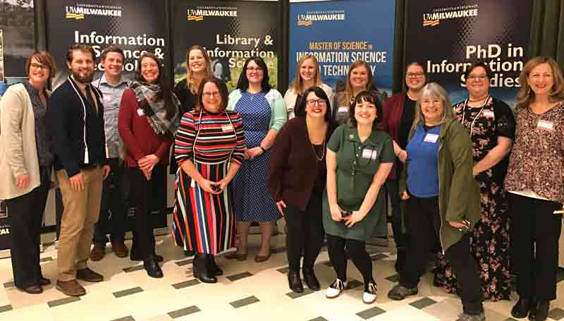MLIS Graduates at the Fall 2019 SOIS Recognition Ceremony