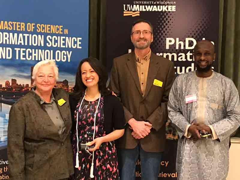 PhD Graduates at the Fall 2019 SOIS Recognition Ceremony