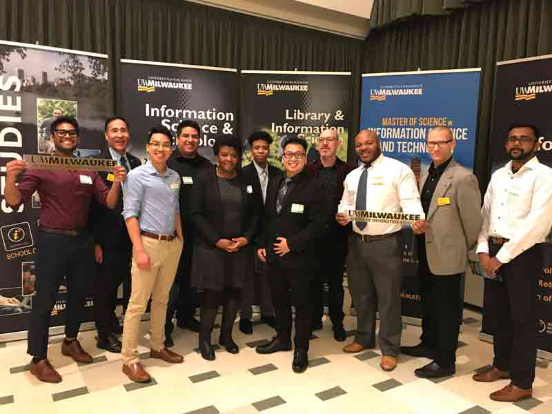 BSIST Graduates at the Fall 2019 SOIS Recognition Ceremony