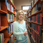 Abigail Phillips, assistant professor in the School of Information Studies
