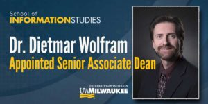 Dr. Dietmar Wolfram Appointed Senior Associate Dean