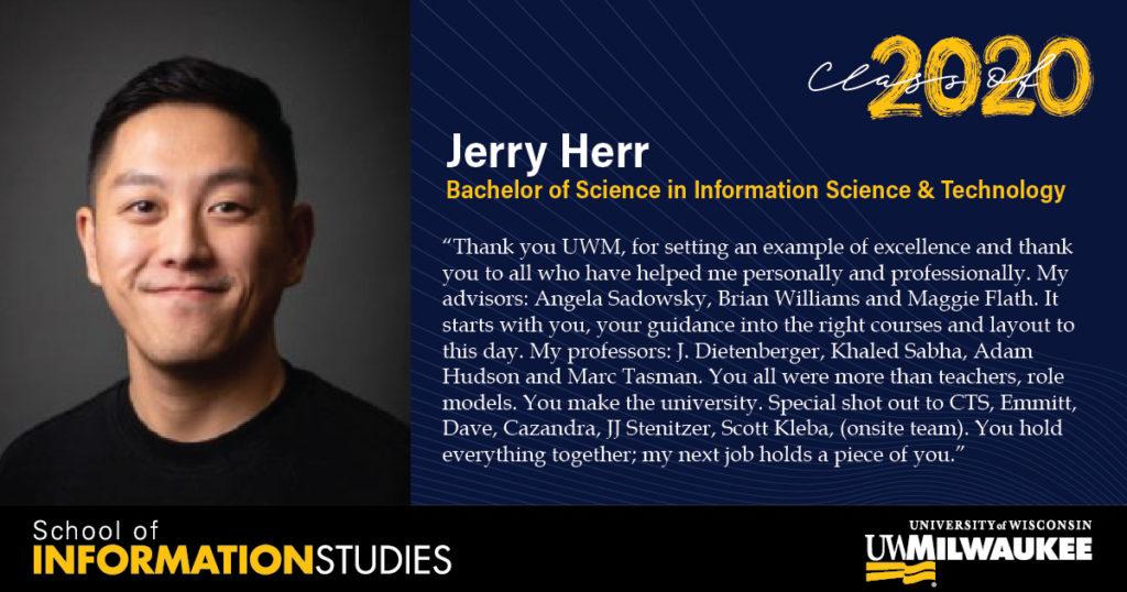 Jerry Herr, IST