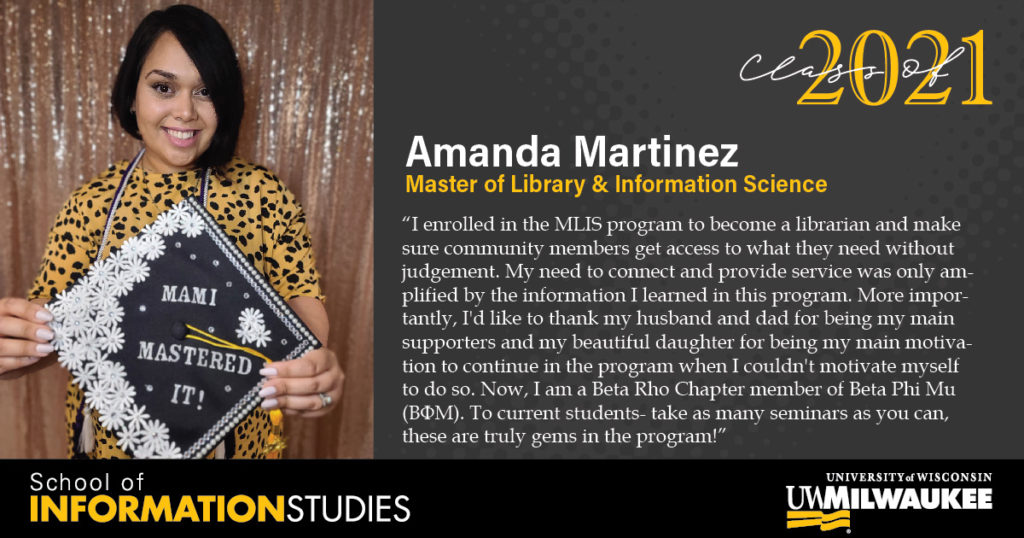 Amanda Martinez, MLIS