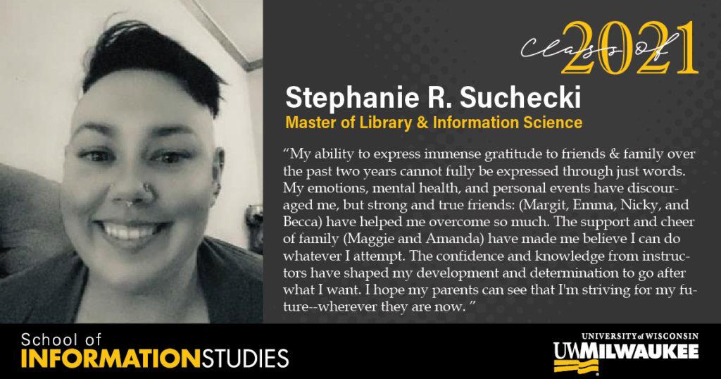 Stephanie Suchecki, MLIS