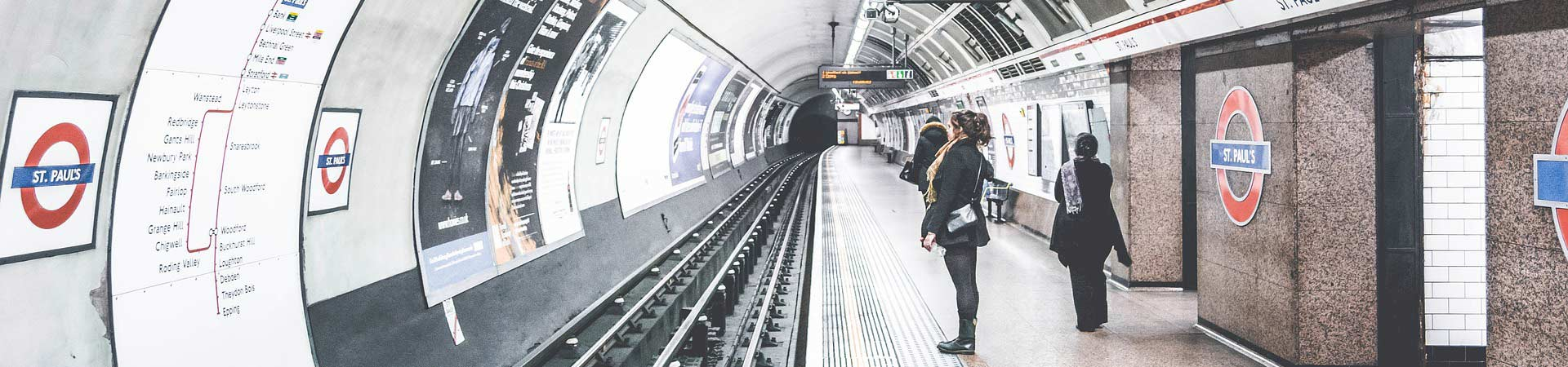 London Underground Subway Station