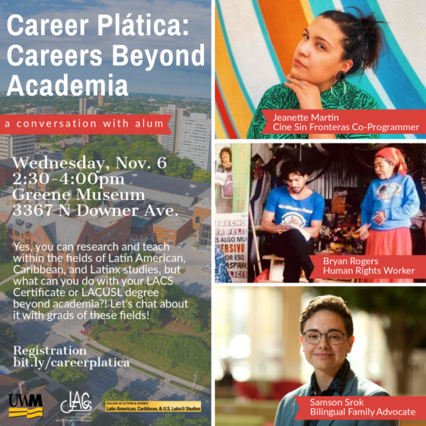 career plática flyer