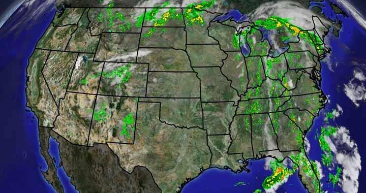 US Radar image