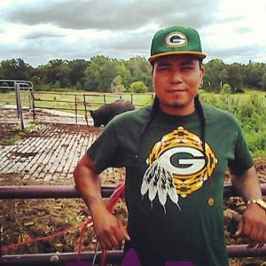 American Indian Studies major James Flores is a member of the Oneida Nation and spent his summer farming and studying culturally important crops.