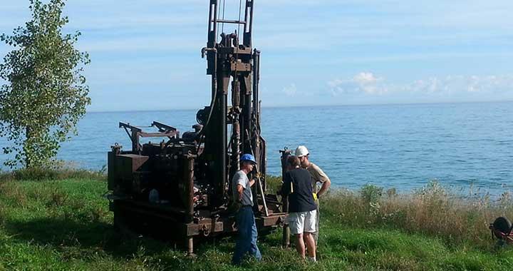 Geoscientist drills deep to determine Milwaukee's glacial