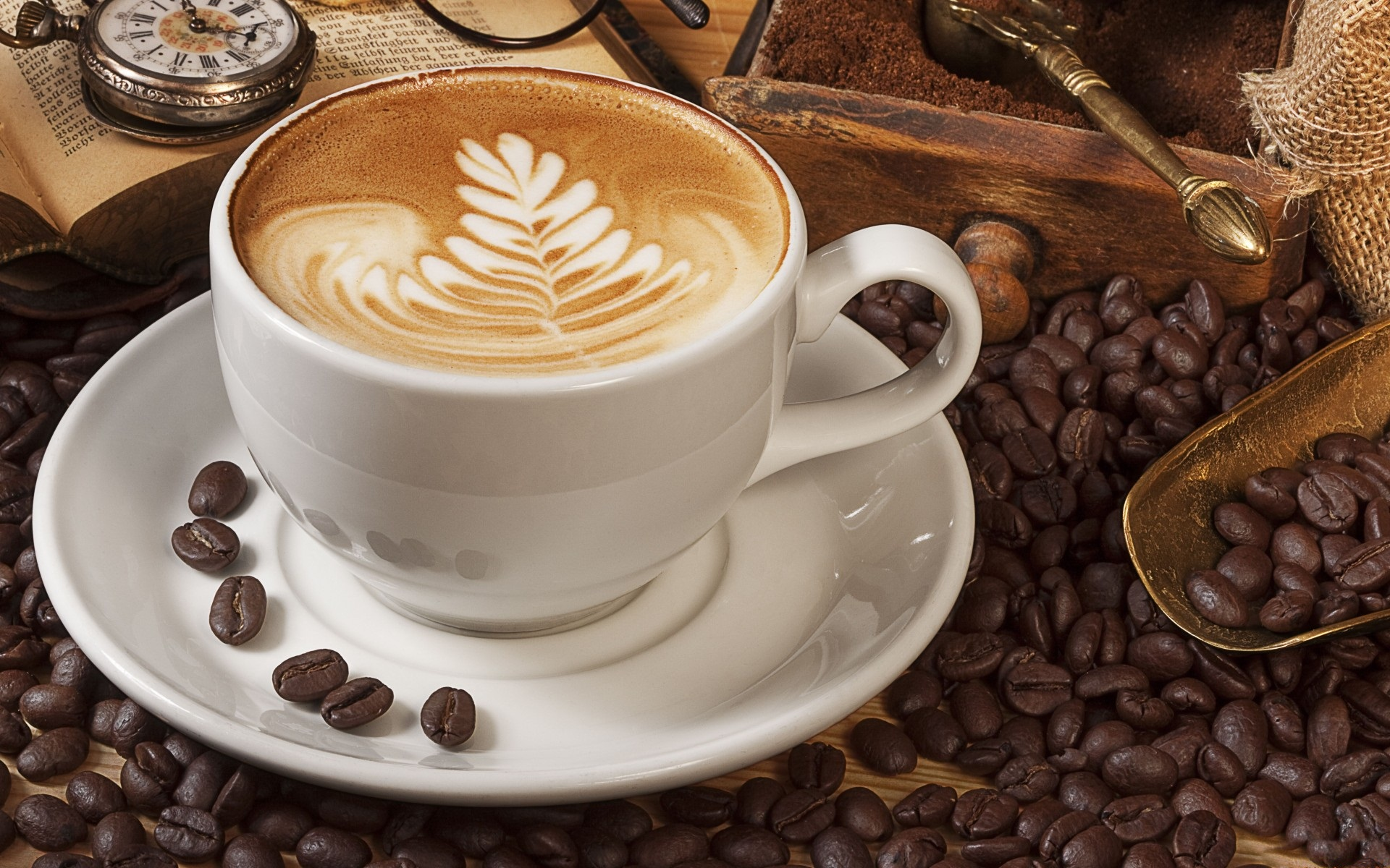 Cup Of Coffee Images: Letters And Science
