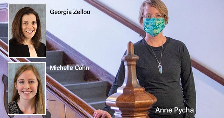 Anne Pycha and collaborators