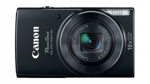 Image of Canon Powershot camera from the front
