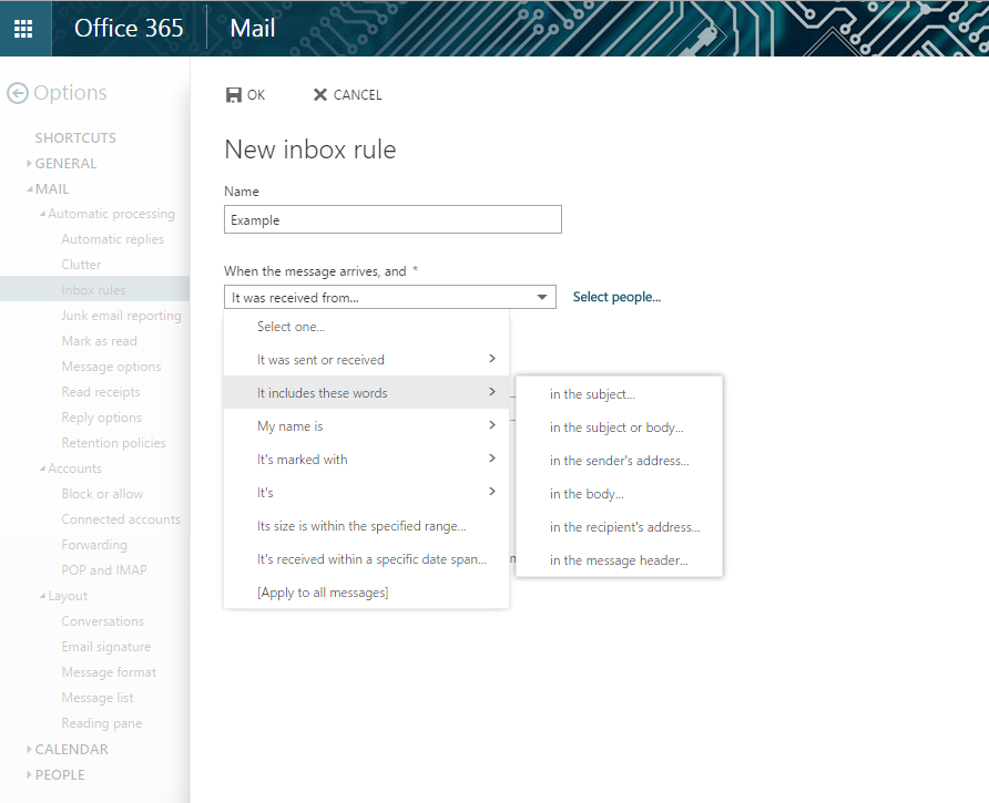 outlook uwm Outlook: Using Inbox Rules to Sort E-mail | UWM Libraries