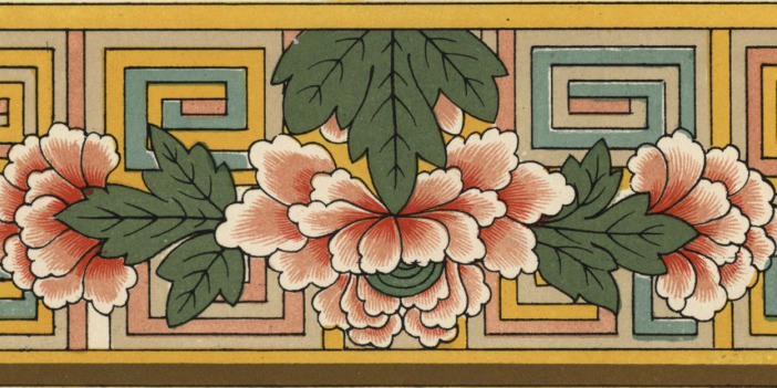 Flower border from The Grammar of Ornament