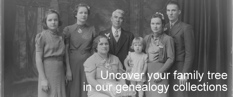 Uncover your family tree with our genealogy collections