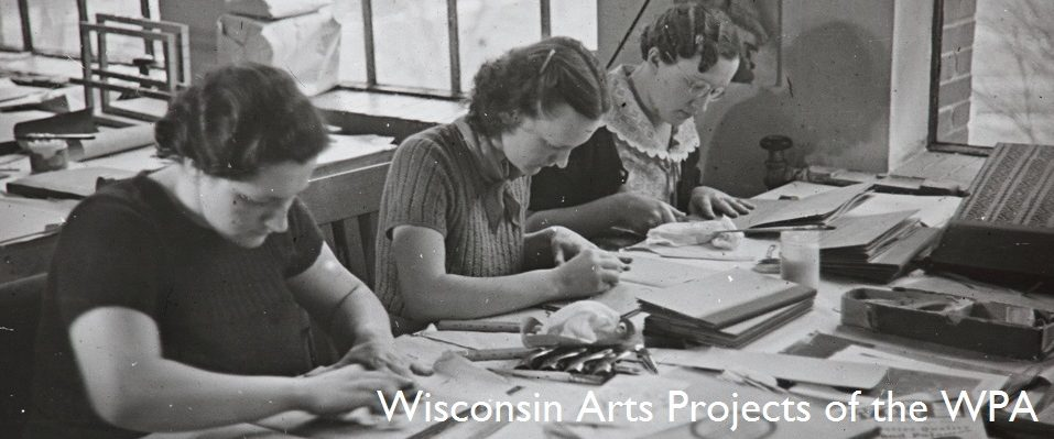Three_women_creating_books_Milwaukee_Handicraft_Project