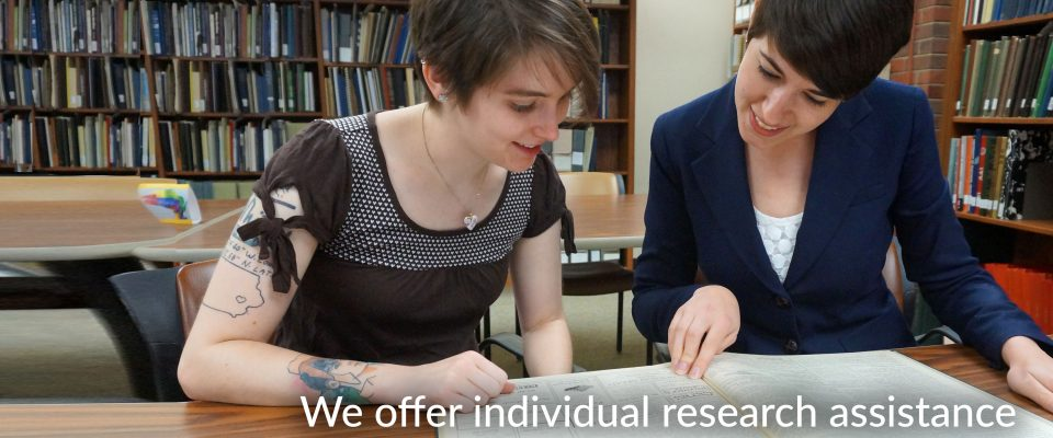 We offer individual research assistance