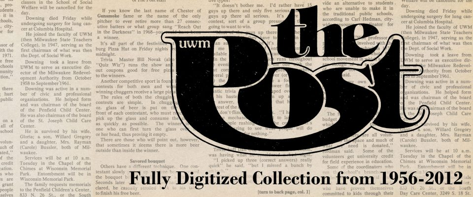 UWM Post digital collection