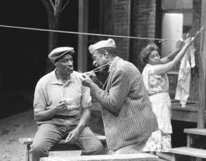 Image from Milwaukee Repertory Theatre's production of Fences