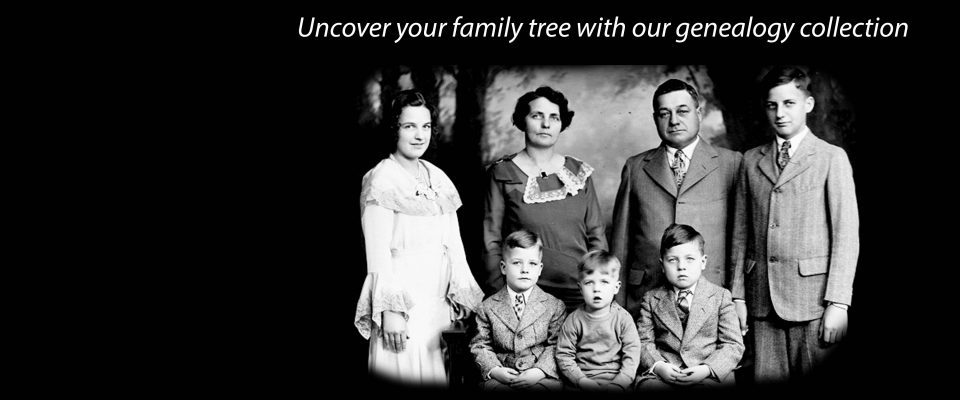 Uncover your family tree with our genealogy collection