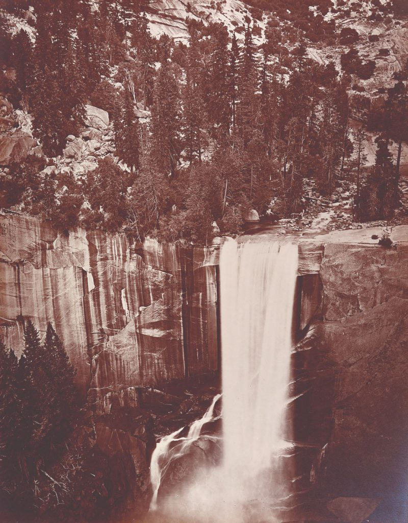 "Eadweard Muybridge, ""Piwyack. Valley of the Yosemite."" 1872. Collection of the American Geographical Society Library."