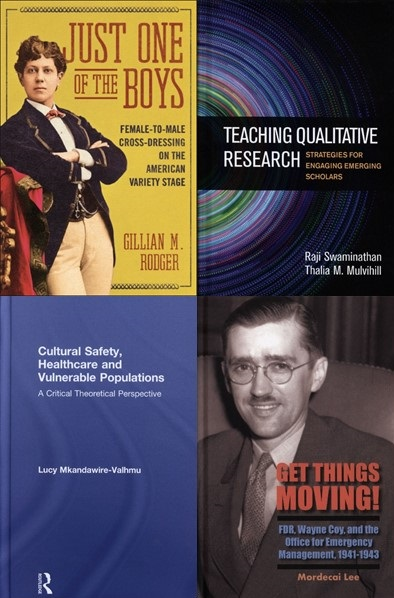 covers of four uwm authors' books