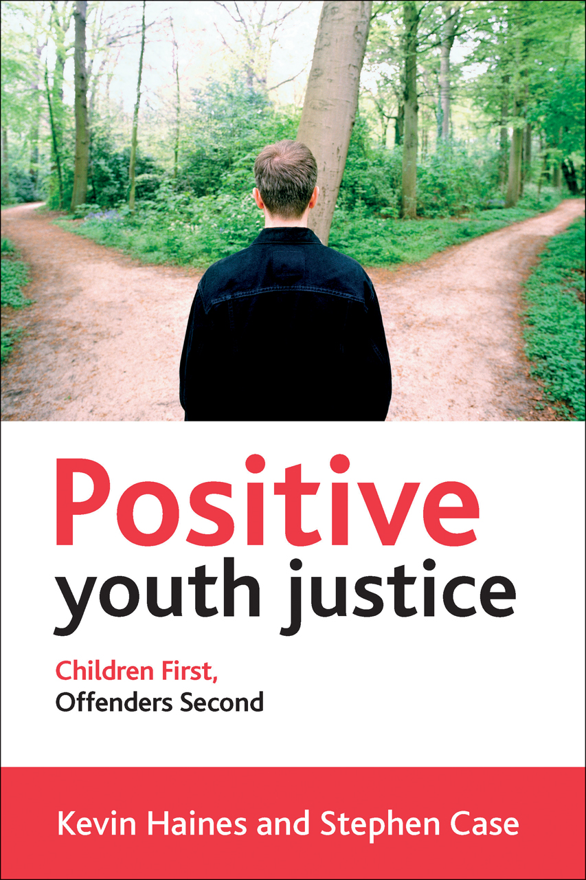 cover of book--Positive Youth Justice--included in exhibit