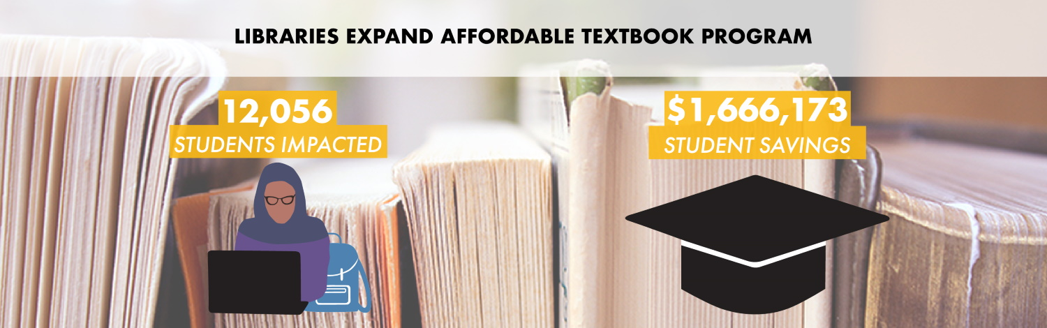 libraries expand affordable textbook program