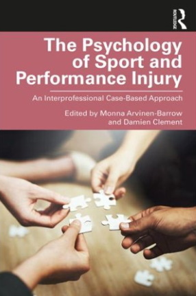 The Psychology of Sport and Performance Injury book cover