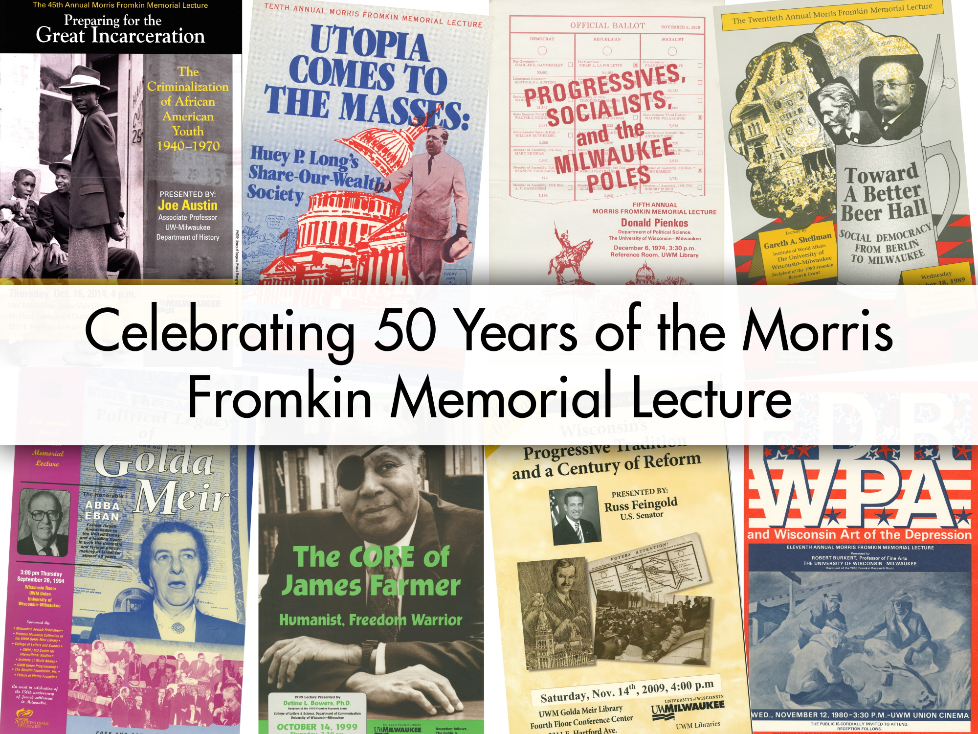 image with text that says Celebrating 50 years of the Morris Fromkin Memorial Lecture