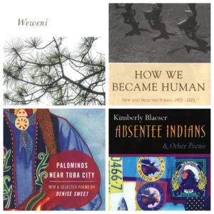 image of four book covers
