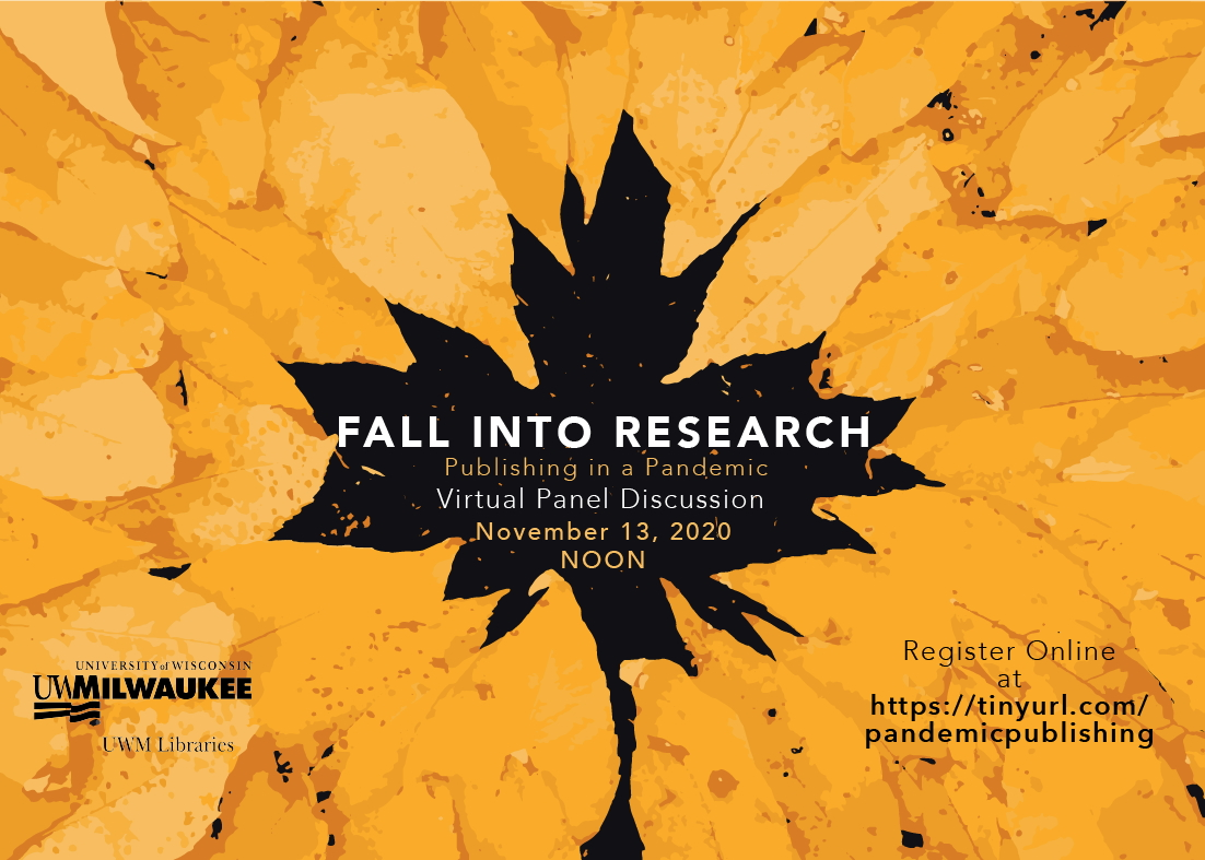 image with text: Fall into Research