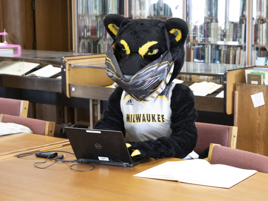 photo of Pounce in Special Collections
