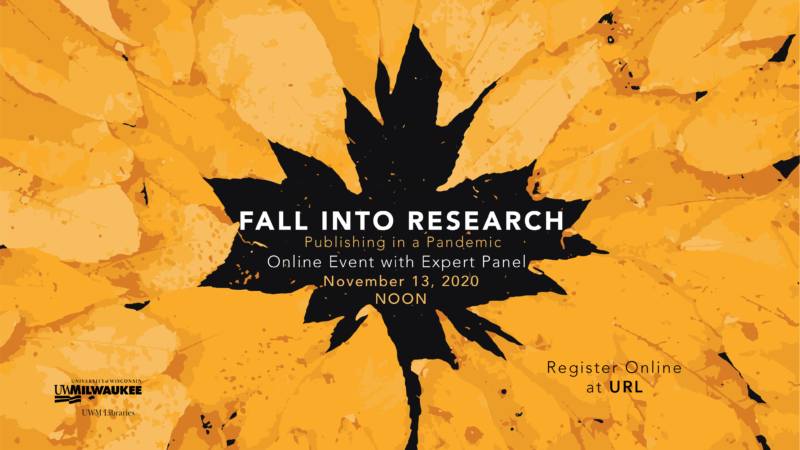 Fall into Research flyer