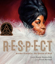 Cover image of RESPECT: Aretha Franklin, the Queen of Soul