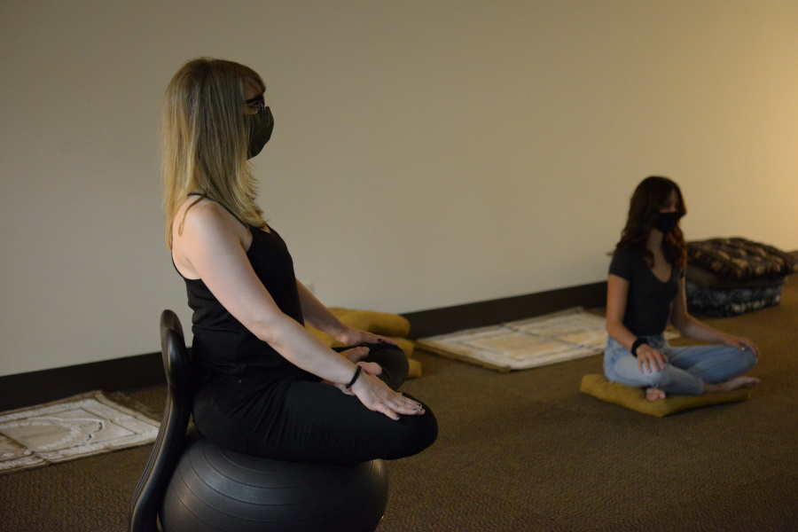 photo of people using Contemplative Space