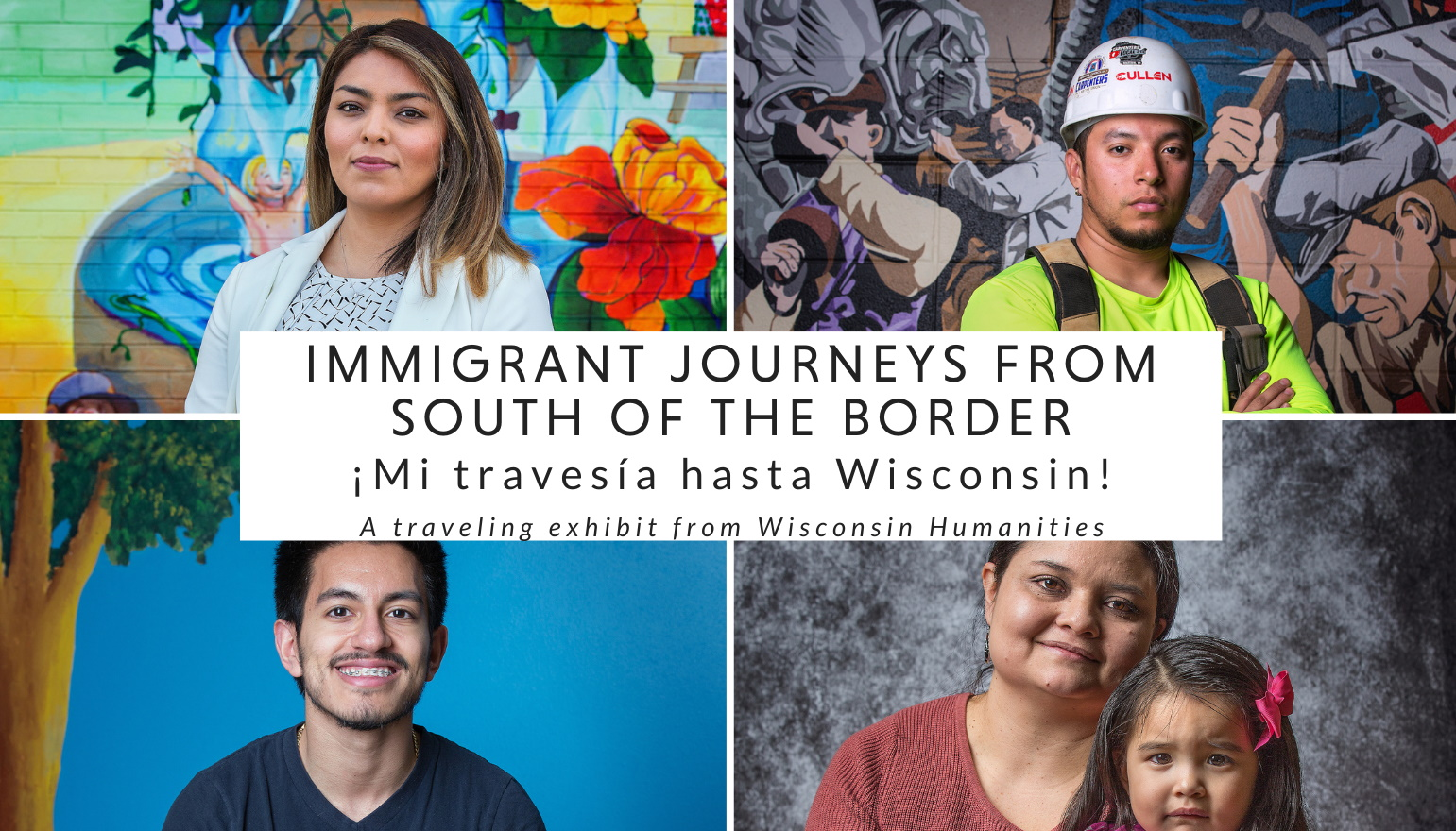 photos and text Immigrant Journeys from South of the Border