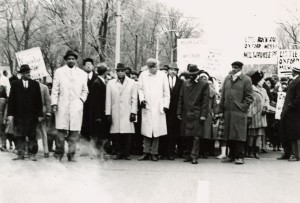 MUSIC March Against School Segregation. Courtesy Wisconsin Historical Society