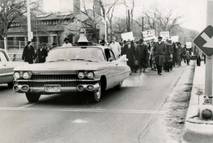 School segregation protest march. Courtesy Wisconsin Historical Society