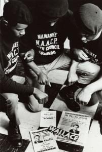 NAACP Youth Council Commandos. Courtesy Wisconsin Historical Society