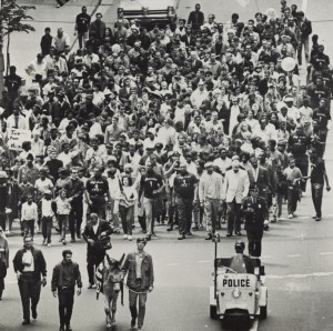 Milwaukee March, ca. 1967. Courtesy Wisconsin Historical Society