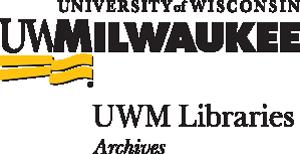 UWM Libraries - Achives Logo
