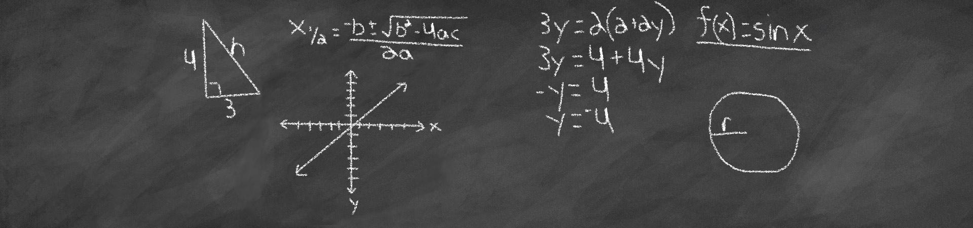 Mathematics Banner