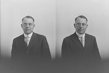 Naturalization photograph of Joseph Szedziewski, 1932 kw025751