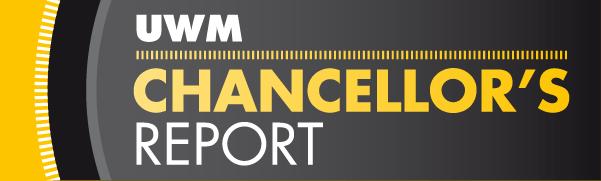 UWM Chancellor's Report'